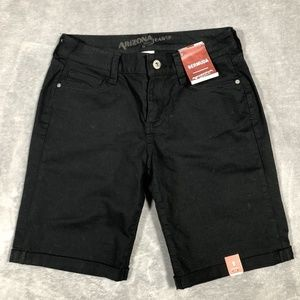 Arizona Jean Co. Bermuda Black Shorts Size 5